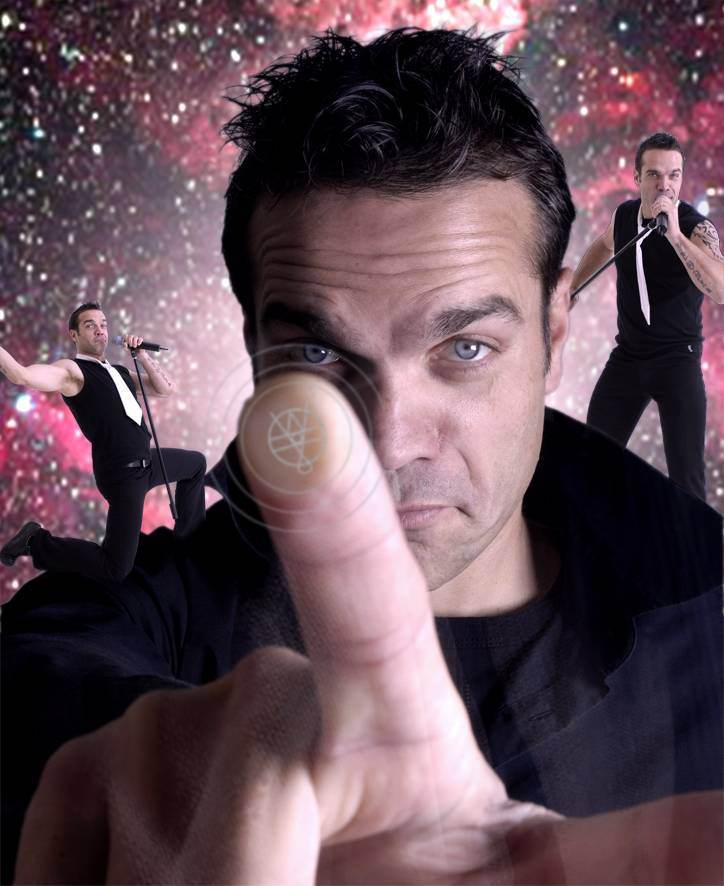 Robbie Williams imitator