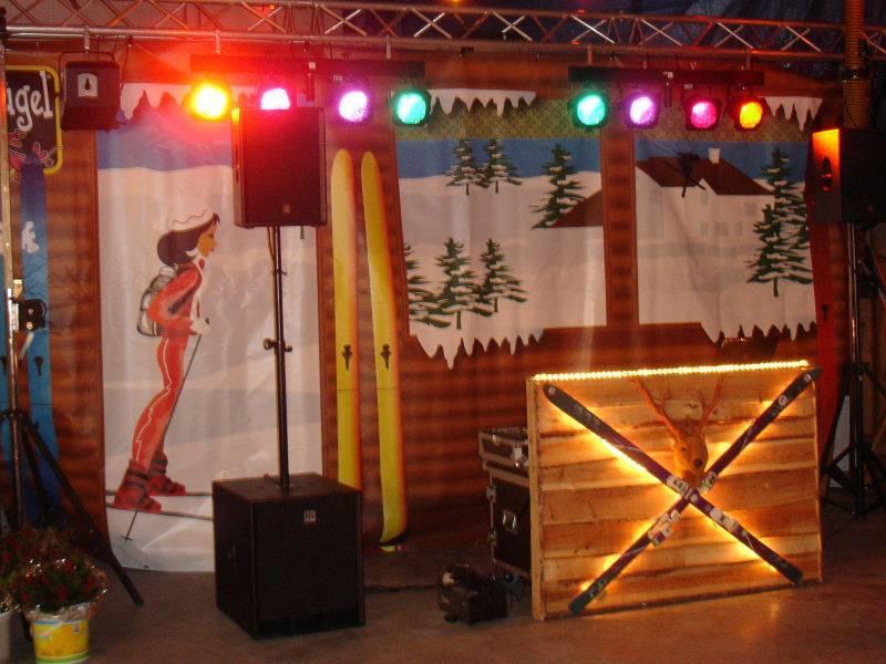 Apres-ski Party drive-in-show