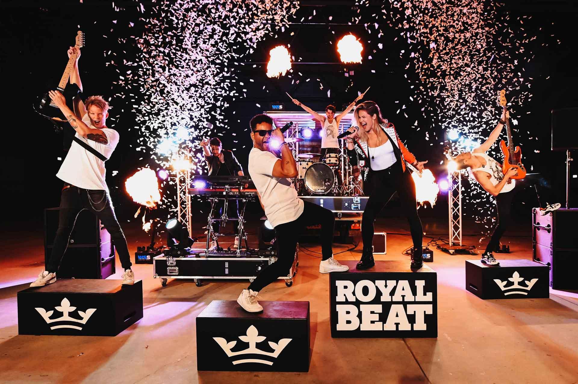 Coverband Royal Beat