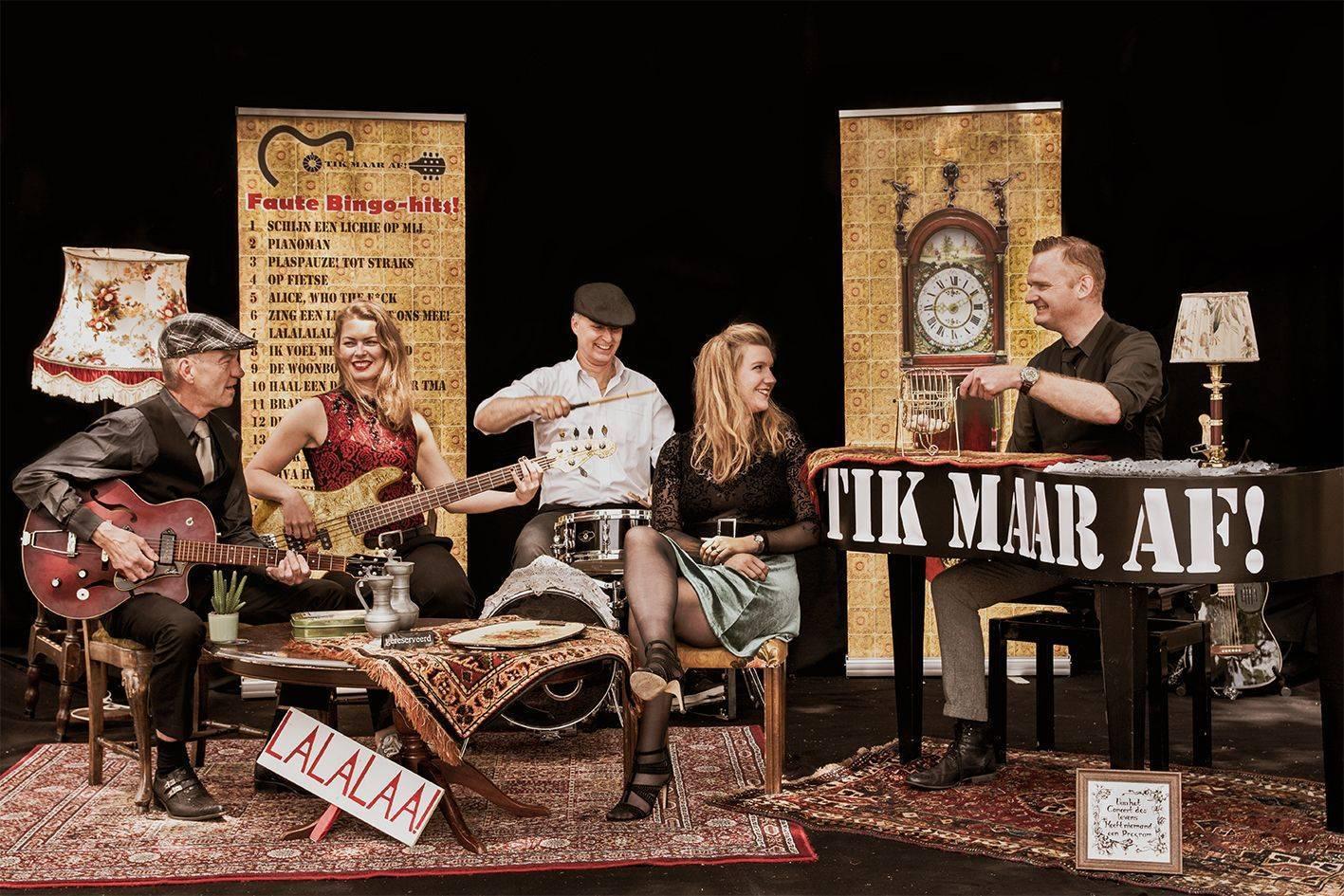 Coverband TikMaarAf
